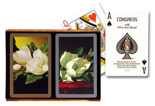 Congress Southern Charm Standard Index Bridge Playing Cards - 2 Deck Set
