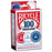 Bicycle 100 Count 2-Gram Plastic Poker Chips - 25 Red, 50 Ivory, and 25 Blue