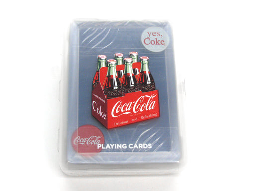 Bicycle Coca-Cola Coke Clear Playing Cards with Plastic Case