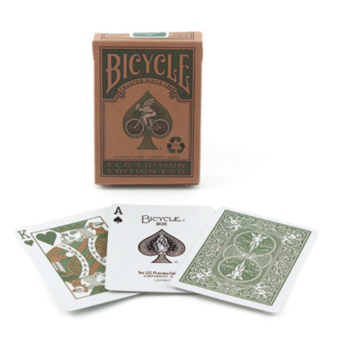 Bicycle Eco Edition Environmentally Friendly Playing Cards - 1 Sealed Deck