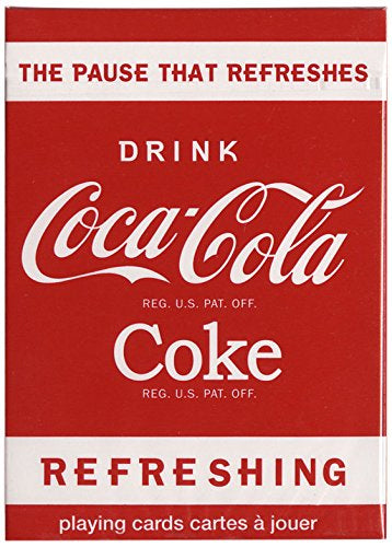 "Bicycle Coke ""Refreshing"" Playing Cards - 1 Sealed Deck"