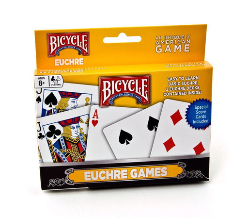 Bicycle Euchre Playing Cards - 1 Set of 2 Euchre Decks