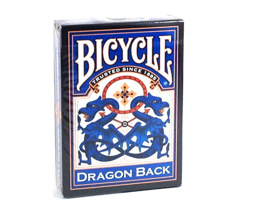 Bicycle Blue Dragon Back Playing Cards - 1 Sealed Blue Deck