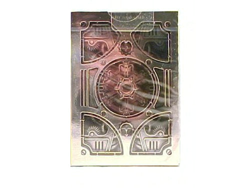 Bicycle Steampunk-Silver Decorative Collectible Poker Playing Cards - 1 Deck