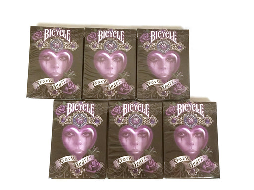 Bicycle Anne Stoke II Dark Hearts Playing Cards - 6 Sealed Decks
