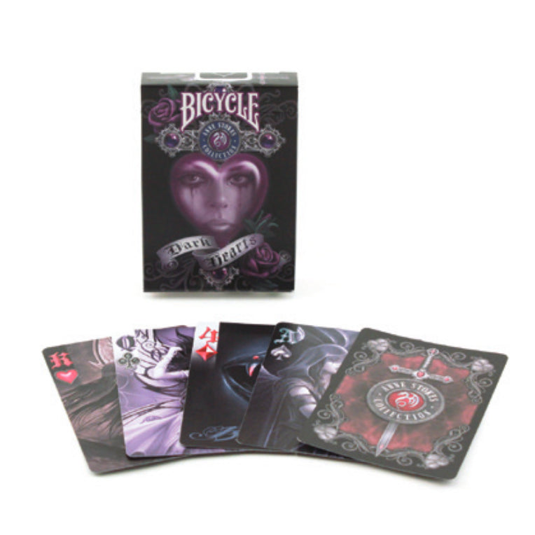 Bicycle Anne Stoke II Dark Hearts Playing Cards - 1 Sealed Deck