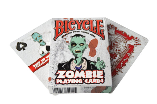 Bicycle Zombies Survival Guide Poker Playing Cards - 1 Sealed Deck
