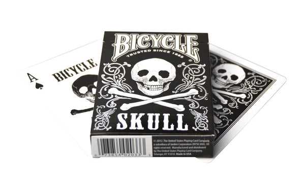 Bicycle Skull Collectible Playing Cards - 1 Sealed Deck