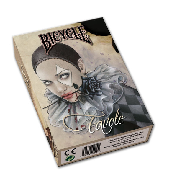 Bicycle Favole Collectible Poker Size Playing Cards - 1 Sealed Deck