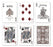 Bicycle Pluma Collectible Poker Playing Cards - 1 Sealed Deck