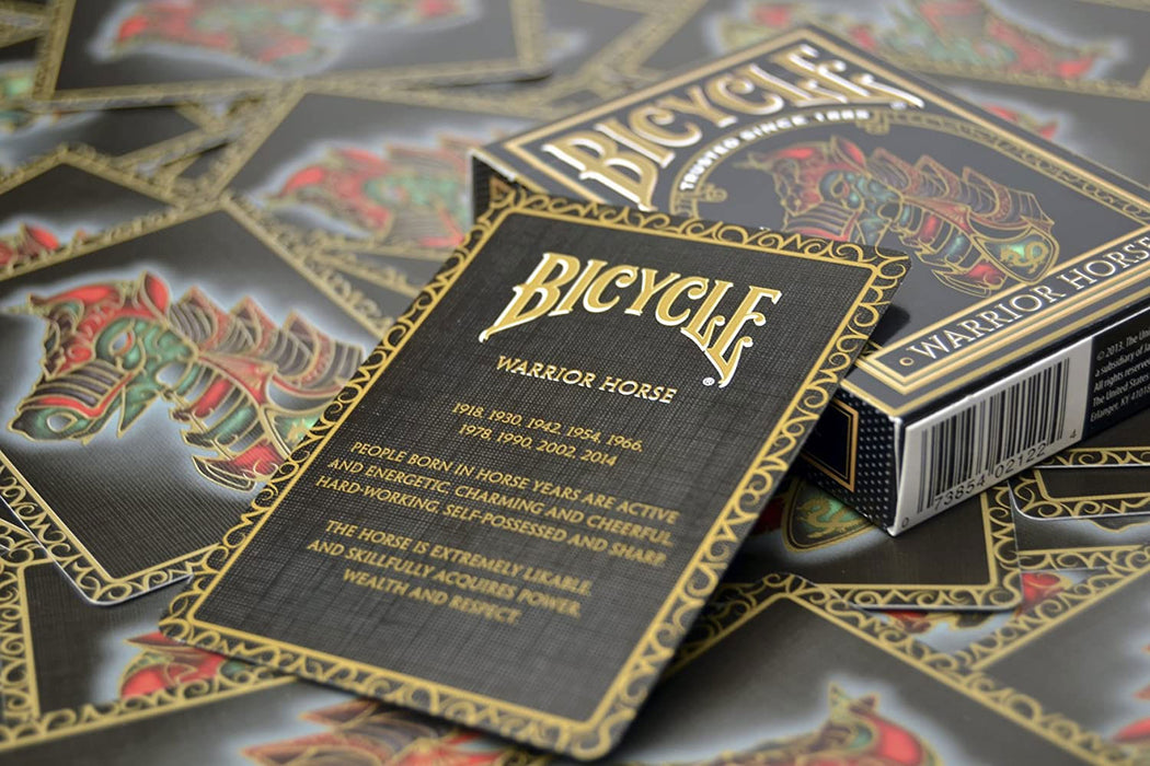 Bicycle Warrior Horse Collectible Playing Cards - 1 Sealed Deck