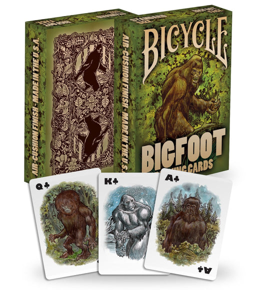Bicycle Big Foot Playing Cards - 1 Sealed Deck Featuring Bigfoot aka Sasquatch