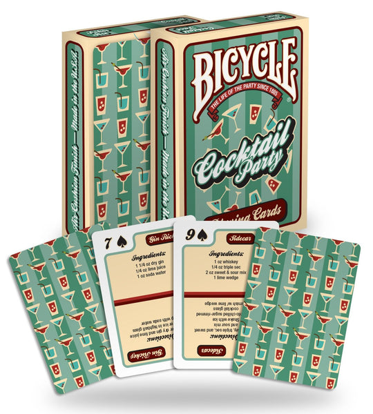 Bicycle Cocktail Playing Cards - 1 Sealed Deck