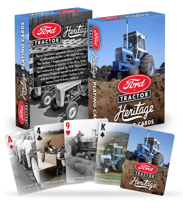 Collectible USPCC Ford Tractor Playing Cards - 1 Sealed Deck