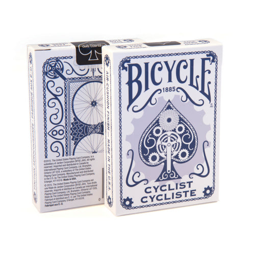 Bicycle Cyclist Classic Rider Back Design Playing Cards - 1 Sealed Blue Deck