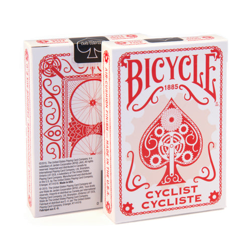 Bicycle Cyclist Classic Rider Back Design Playing Cards - 1 Sealed Red Deck