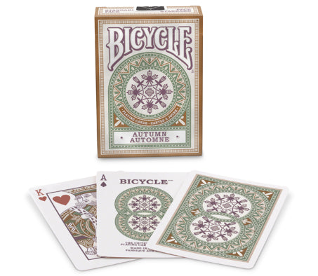 Bicycle Autumn Playing Cards - 1 Sealed Deck