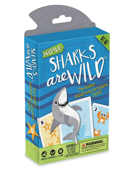 Hoyle Sharks Are Wild Kids Card Game - 1 Deck