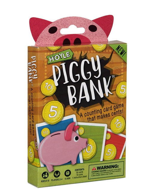 Hoyle Piggy Bank Kids Card Game - 1 Deck