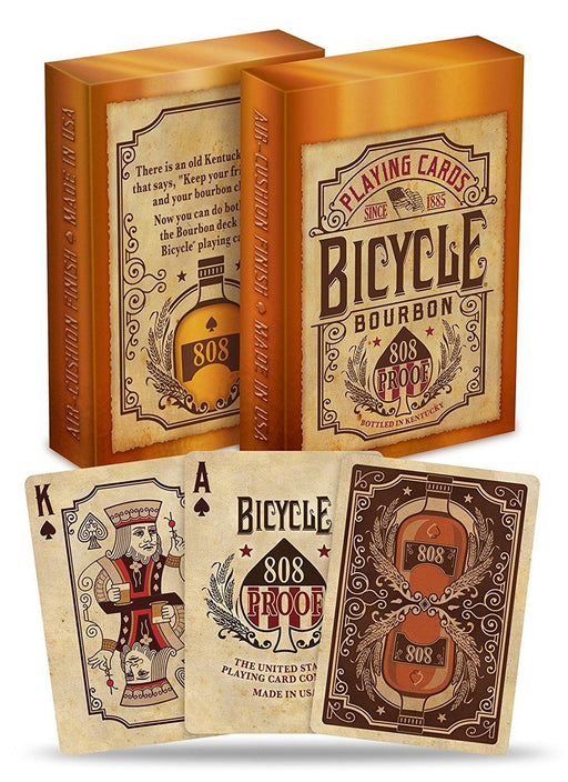 Bicycle Bourbon Playing Card Deck