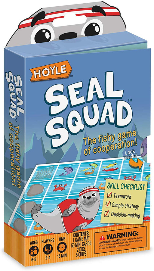 Hoyle Seal Squad Kids Card Game