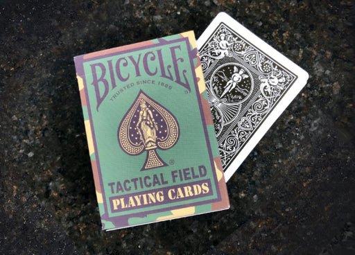 Bicycle Tactical Field Jungle Green Camo Playing Cards, 1 Sealed Deck