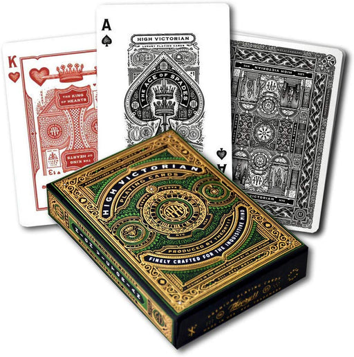 Theory11 High Victorian Playing Cards - 1 Sealed Green Deck