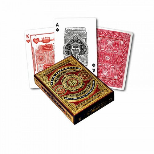 Theory11 High Victorian Playing Cards - 1 Sealed Red Deck