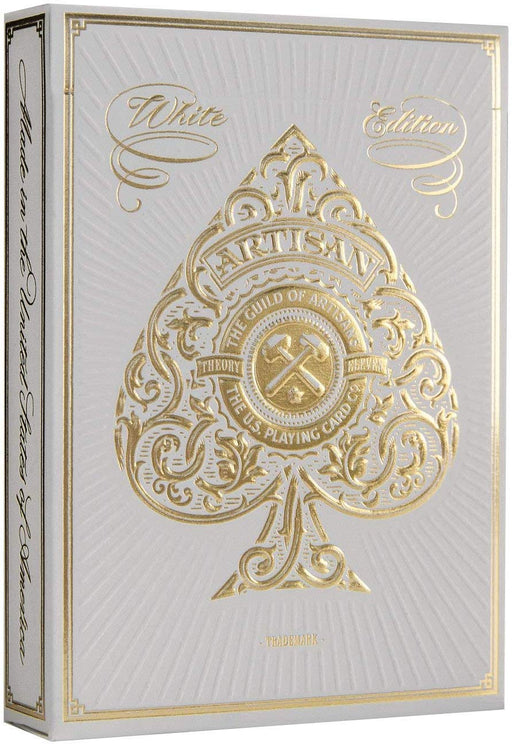 Theory11 Artisans Playing Cards - 1 Sealed White Deck