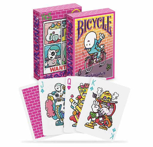 Bicycle Brosmind's Four Gangs Playing Cards - 1 Sealed Deck