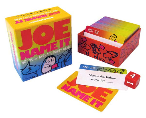 Joe Name It - Not Your Average Party Game