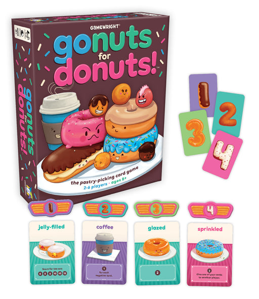 Go Nuts For Donuts! - The Pastry-Picking Card Game