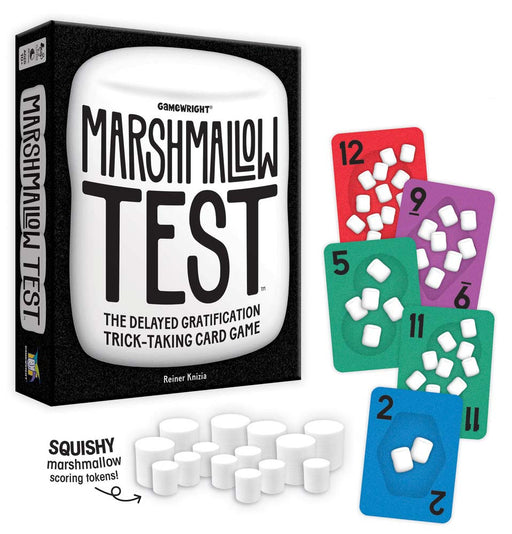 Marshmallow Test - The Delayed Gratification Trick-Taking Game