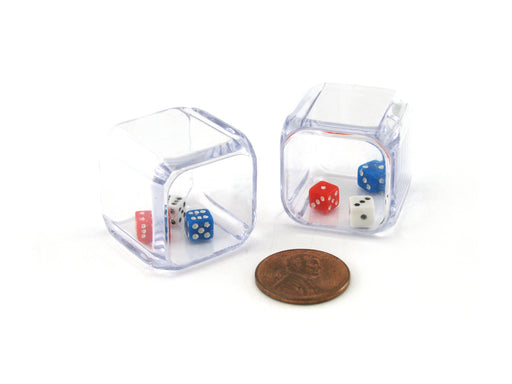 Set of 2 D6 25mm 3 In A Cube Triple Dice Die RPG D&D Board Game