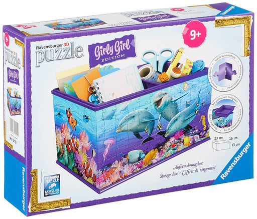 Ravensburger Storage Box Underwater Design 216 Piece 3D Puzzle