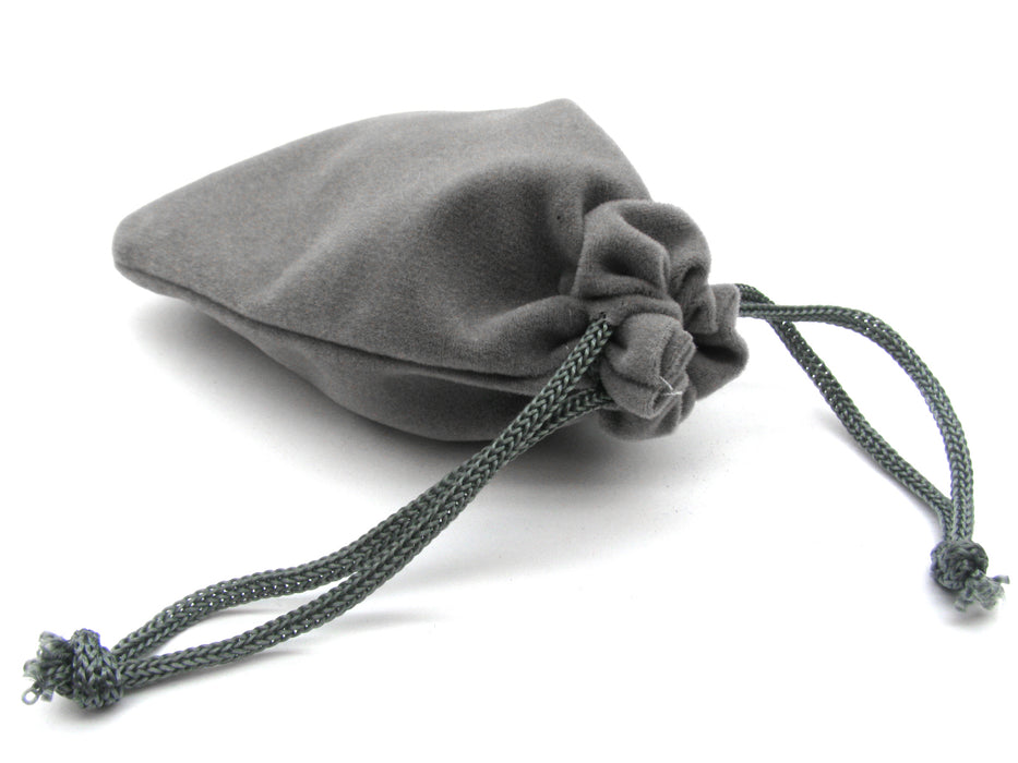 "3"" x 4"" Soft Drawstring Gaming Pouch Dice Bag"