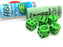 Fish Dice Game 5 Dice Set with Travel Tube and Instructions