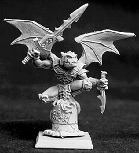 Reaper Miniatures Gargoyle, Necropolis Monster #14028 Necropolis Unpainted Mini