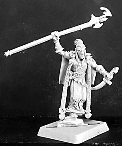 Reaper Miniatures Kevis, Overlords Mage #14124 Warlord Unpainted RPG D&D Figure