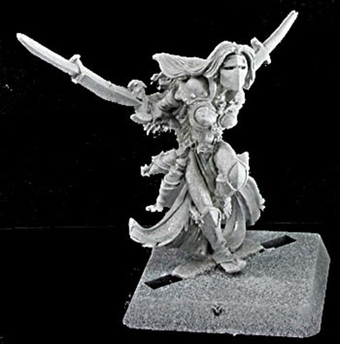 Reaper Miniatures Moraia, Overlords Hero #14128 Warlord Unpainted RPG D&D Figure