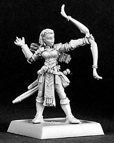 Reaper Miniatures Bowsister #14321 Sisters Of The Blade Unpainted RPG D&D Mini
