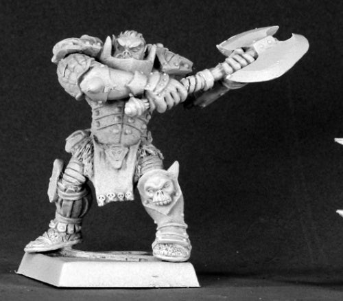 Reaper Miniatures Varaug, Orc Warlord (Alternate Sculpt) #14536 Reven Unpainted