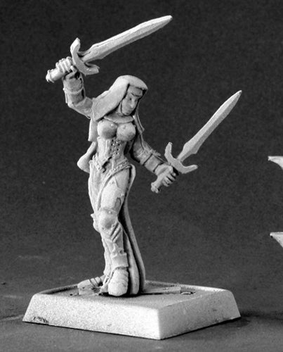 Reaper Miniatures Majeda, Battle Nun #14543 Crusaders Unpainted RPG Mini Figure