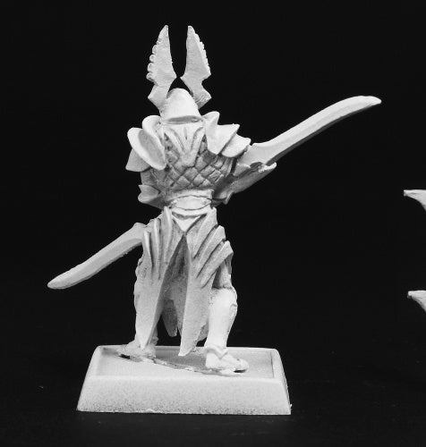 Reaper Miniatures Elven Royal Blademaster Sergeant #14550 Elves Unpainted Mini