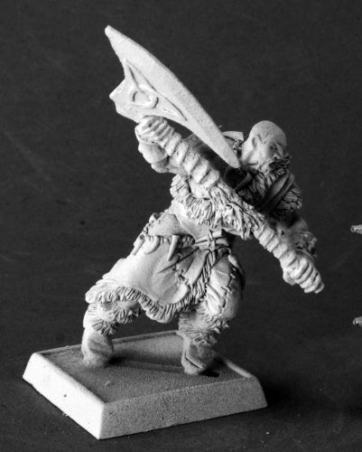 Reaper Miniatures Gorak the Ravager, Barbarian #14608 Icingstead Unpainted Mini