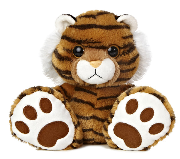 "Trooper Taddle Toes 10"" Aurora Plush Tiger"