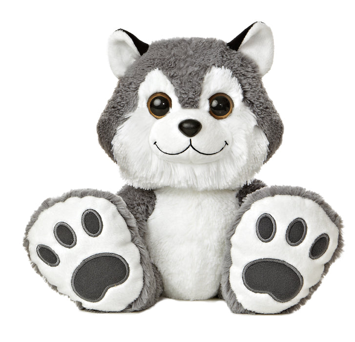 "Howler Taddle Toes 10"" Aurora Plush Husky Howler"
