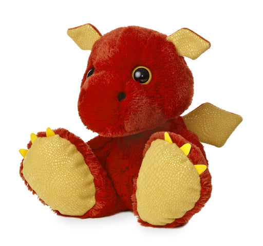 "Sparks Taddle Toes 10"" Aurora Plush Dragon"