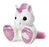 "Rainbow Taddle Toes 10"" Aurora Plush Pink and White Unicorn"
