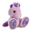 "Skywriter Taddle Toes 10"" Aurora Plush Purple Unicorn"